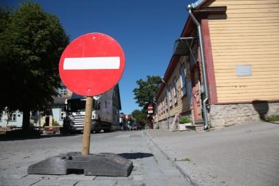 keelumärk sissesõit haapsalu liiklusmärk
