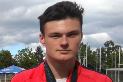 Kevin Sakson Eesti meistrivõistlustelt võidetud kuuli, ketta ja kõrgushüppe kuldmedalitega