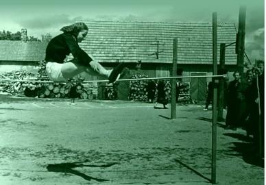 Hyppel Aino Maasik 1960 Foto Erich Kanter