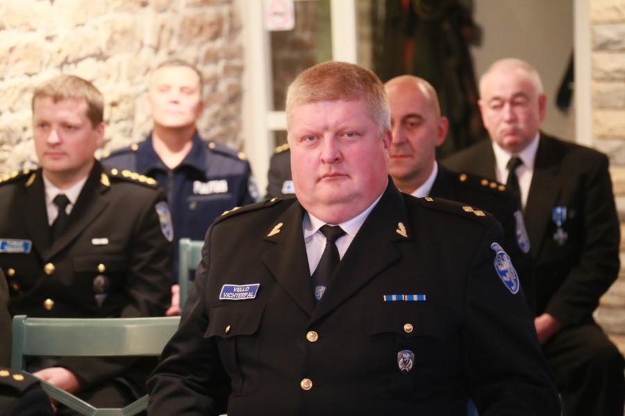 Vello Vichterpal saab politsei teeneteristi