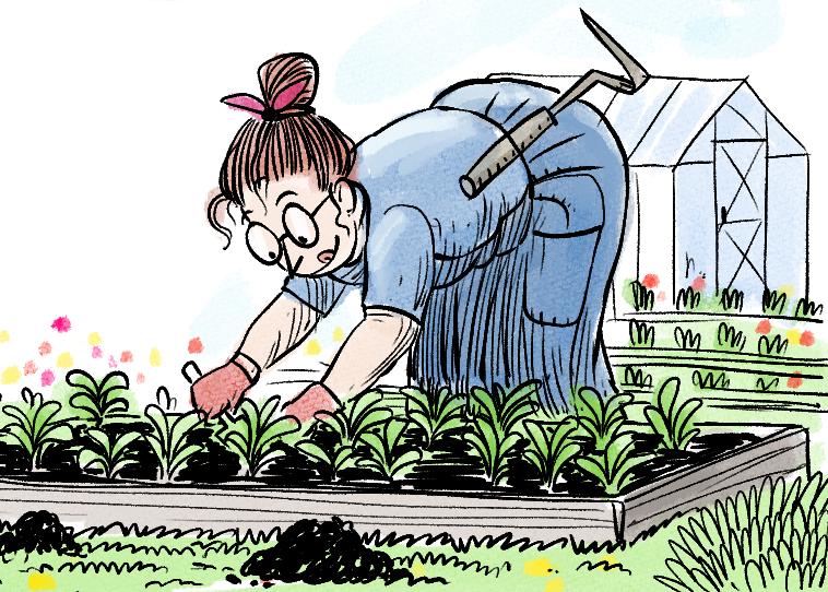 Aidi Valliku aiandusblogi: sooja teki alla