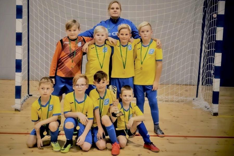 ac9a87c0108 Läänemaa JK U9 poisid said Pärnu-Jaagupis turniirivõidu - Lääne Elu