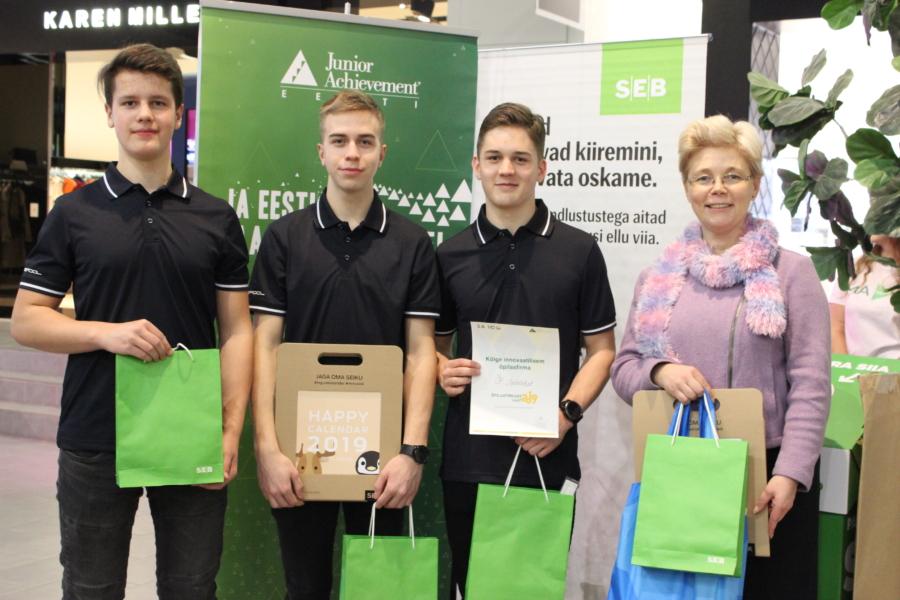 Kõige innovaatilisem õpilasfirma tegutseb Innokas