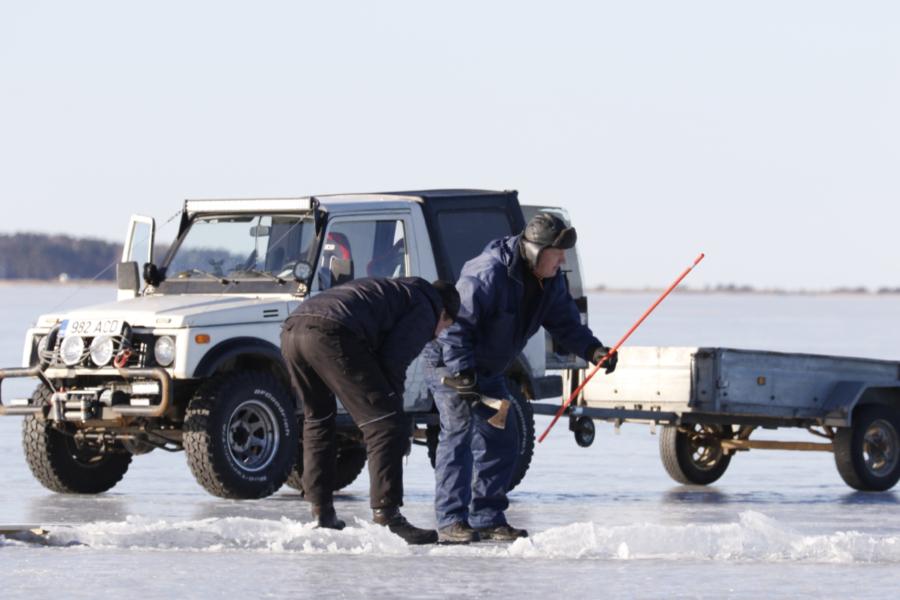 Haapsalu-Noarootsi jäätee suleti lõplikult