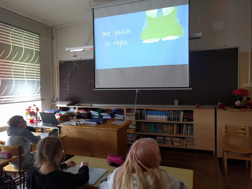 Haapsalu põhikoolis käib keelekümblus