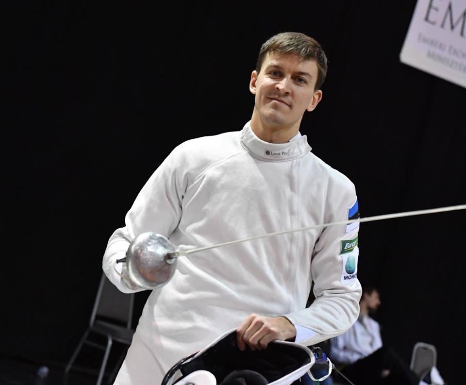 Sten Priinits võitis Eesti vehklemiskarika