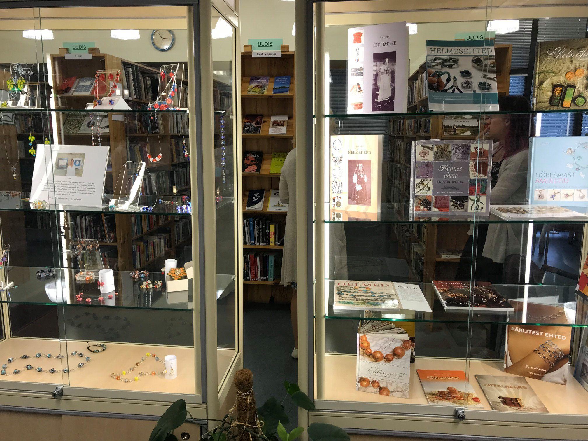 ca9b2cc92cc Raamatukogus ootab suvel vaatajaid kaks näitust - Lääne Elu