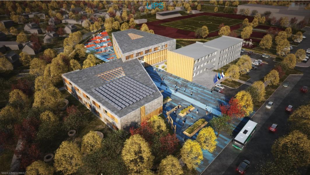Haapsalu põhikooli ehitus algab sel nädalal