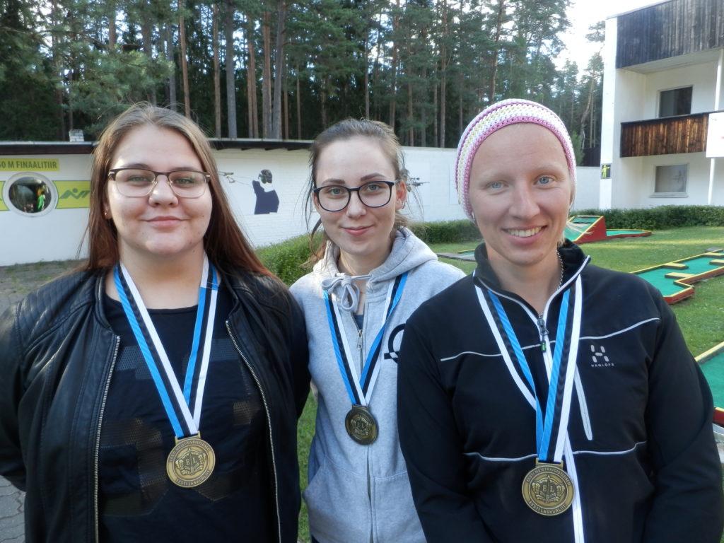 Eesti meistrivõistlustelt laskmises tuli Läänemaale seitse medalit