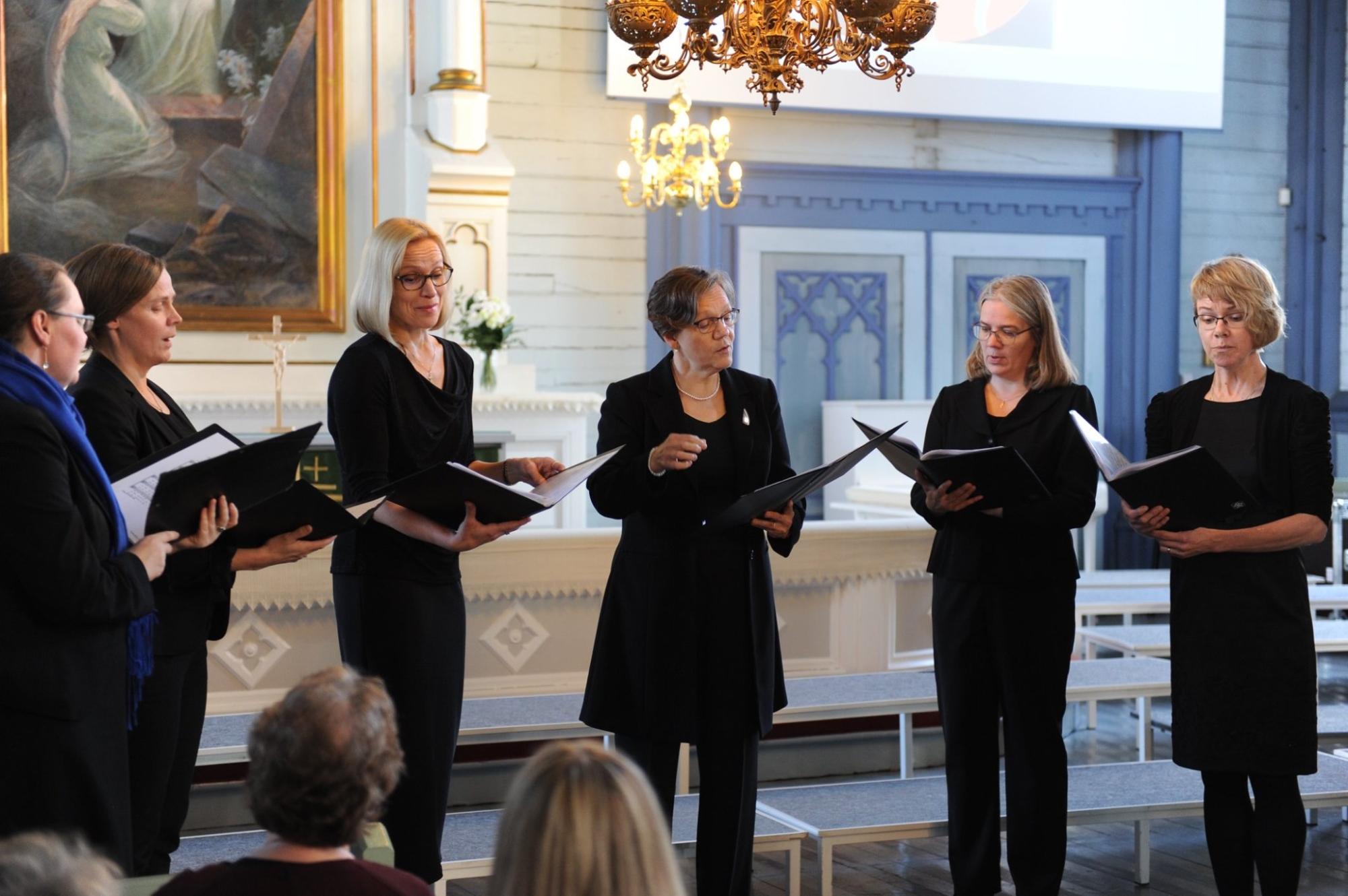 Toomkirikus esineb õhtul Soome koor