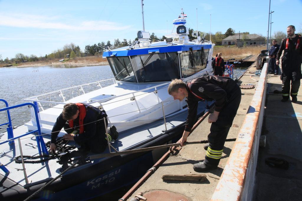 Politseiamet kaotab Haapsalust merepäästeüksuse