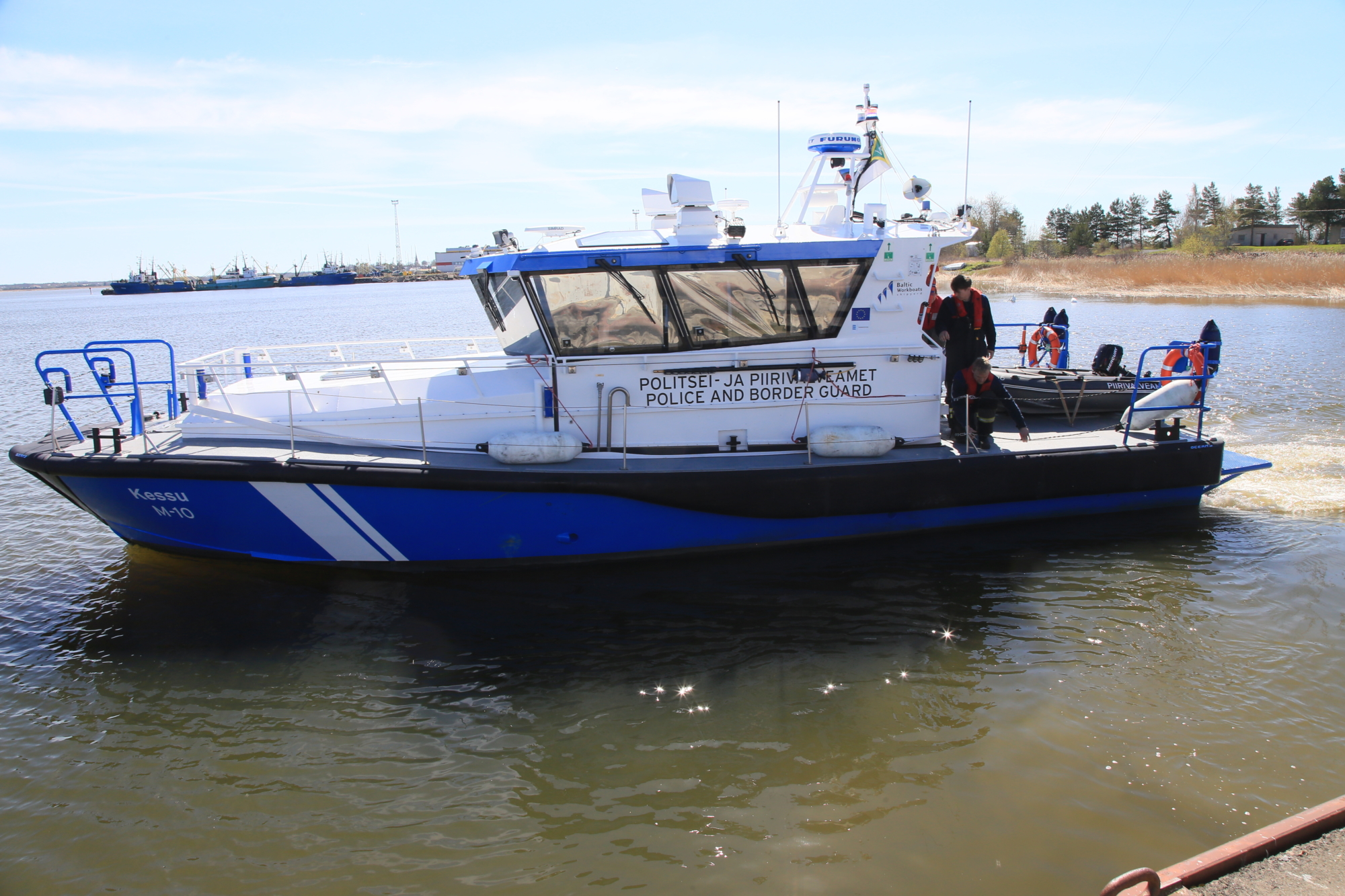 Merepäästja: Haapsalu vajab kutselist merepäästet