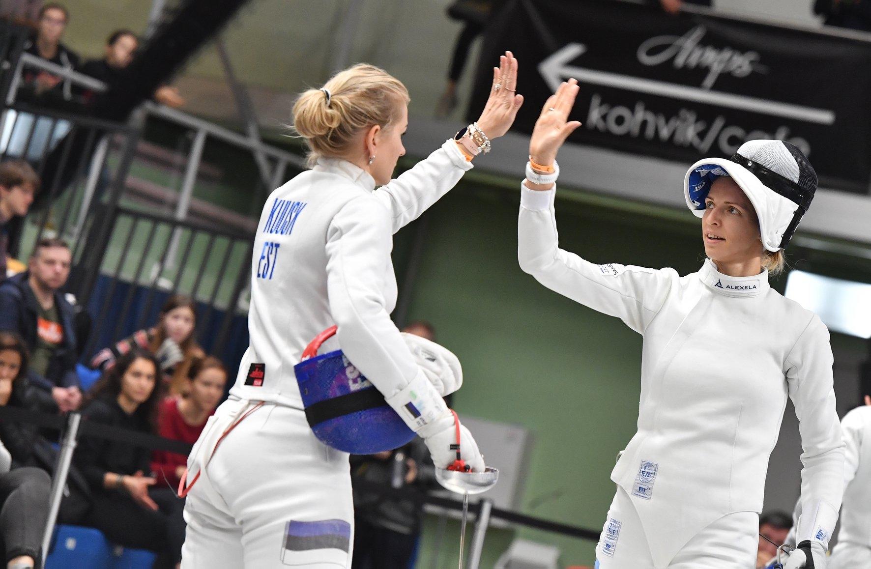 Eesti naiskond sai Tallinna Mõõgal viienda koha