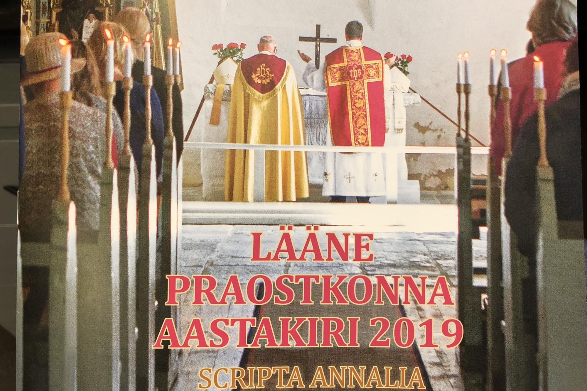 Ilmus Lääne praostkonna aastakiri Scripta Annalia