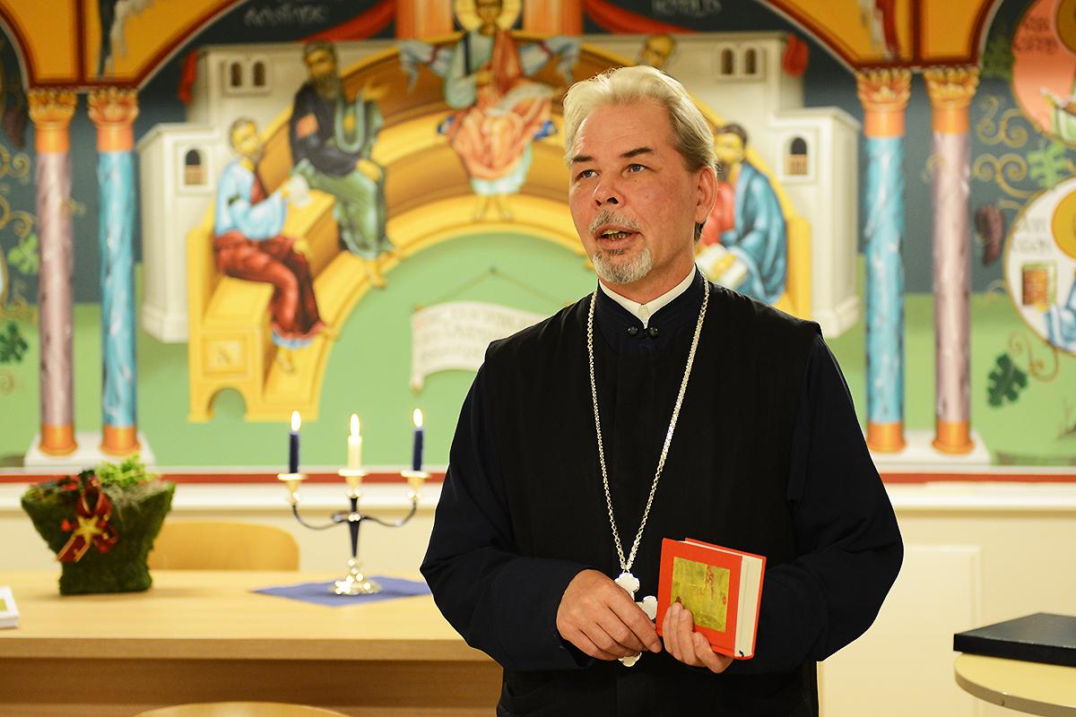Eesti apostliku õigeusu kiriku preester Justinus Kiviloo . Foto: Andrus Roos